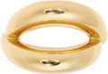 """Estate Jewelry:Rings, Gold Ring, Mauboussin. The ring features an intertwined loop designcrafted in 18k yellow gold. From the """"Twins"""" collectio..."""