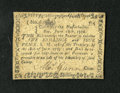 Colonial Notes:Massachusetts, Massachusetts June 18, 1776 5s/4d About New. A lightly circulated example of this scarcer 1776 issue that was printed on thi...