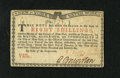 Colonial Notes:New York, New York January 6, 1776 (Water Works) 8s Very Choice New. Eventhough the technical grade of this Water Works note is accur...