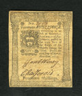 Colonial Notes:Pennsylvania, Pennsylvania March 20, 1773 14s Extremely Fine. This is a verypleasing example of the much scarcer March issue with the Cap...