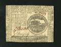 Colonial Notes:Continental Congress Issues, Continental Currency February 17, 1776 $4 Extremely Fine. Adelightful example of this continental note with boar vignette t...