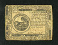 Colonial Notes:Continental Congress Issues, Continental Currency May 10, 1775 $6 Extremely Fine-About New.Although the paper has toned a shade it still remains that th...