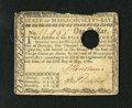 Colonial Notes:Massachusetts, Massachusetts May 5, 1780 $1 Extremely Fine. This is the lowestdenomination from this later date issue that is a well embos...