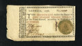 "Colonial Notes:Georgia, Georgia 1776 $1 Extremely Fine-About New. The technical grade doesnot fully describe this green seal Justice with motto ""SU..."