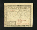 Colonial Notes:Rhode Island, Rhode Island July 2, 1780 $1 Gem New. This is the lowest denomination from this issue. The note is well signed and numbered...