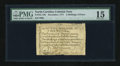 Colonial Notes:North Carolina, North Carolina December, 1771 2s/6d PMG Choice Fine 15....