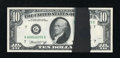 Error Notes:Ink Smears, Fr. 2022-G $10 1974 Federal Reserve Note. Gem Crisp Uncirculated.....