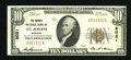 National Bank Notes:Missouri, Saint Joseph, MO - $10 1929 Ty. 1 The Burnes NB Ch. # 8021. ...