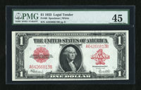 Fr. 40 $1 1923 Legal Tender PMG Choice Extremely Fine 45