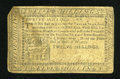 Colonial Notes:Pennsylvania, Pennsylvania April 10, 1777 12s Fine....