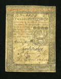 Colonial Notes:Pennsylvania, Pennsylvania October 1, 1773 20s About Good....