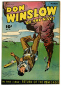 Golden Age (1938-1955):War, Don Winslow of the Navy #32 (Fawcett, 1946) Condition: VF-....