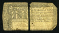 Colonial Notes:Maryland, Maryland January 1, 1767 $8 Very Good....