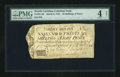 Colonial Notes:North Carolina, North Carolina March 9, 1754 26s/8d PMG Good 4 Net....