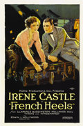 "Movie Posters:Drama, French Heels (Hodkinson Pictures, 1922). One Sheet (27"" X 41"")...."