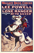 "Movie Posters:Serial, The Lone Ranger (Republic, 1938). One Sheet (28"" X 42"")...."