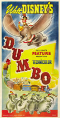"Movie Posters:Animated, Dumbo (RKO, 1941). Three Sheet (41"" X 81"")...."