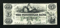 Obsoletes By State:Michigan, Detroit, MI- Peninsular Bank $5 Mar. 1, 1849 G8c. ...