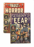 Golden Age (1938-1955):Horror, Haunt of Fear and Vault of Horror Group (EC, 1953) Condition:Average GD/VG.... (Total: 2 Comic Books)