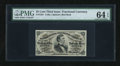 Fractional Currency:Third Issue, Fr. 1291 25c Third Issue PMG Choice Uncirculated 64 EPQ....