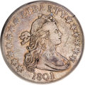 Early Half Dollars, 1801 50C VF25 PCGS....