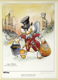 """Original Comic Art:Miscellaneous, Carl Barks - """"Black Gold, Yellow Gold!"""" Limited Edition LithographPrint #169/210 (Disney, 1995).... (Total: 3 Items)"""