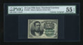 Fractional Currency:Fifth Issue, Fr. 1264 10c Fifth Issue with McClung Courtesy Autograph PMG AboutUncirculated 55 EPQ....