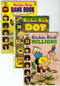Bronze Age (1970-1979):Humor, Richie Rich Related Titles Group (Harvey, 1970s).... (Total: 39Comic Books)