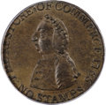 Colonials, 1766 1/2P Pitt Halfpenny MS64 Brown PCGS....
