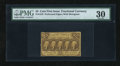 Fractional Currency:First Issue, Fr. 1279 25c First Issue PMG Very Fine 30....
