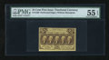 Fractional Currency:First Issue, Fr. 1280 25c First Issue PMG About Uncirculated 55 EPQ....