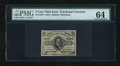 Fractional Currency:Third Issue, Fr. 1236 5c Third Issue PMG Choice Uncirculated 64....