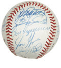 Autographs:Baseballs, 1993 Chicago Cubs Team Signed Baseball. A total of 25 members ofthe 1993 Chicago Cubs have made their way onto the provide...