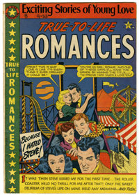 True-To-Life Romances #8 (#1) (Star Publications, 1949) Condition: FN-