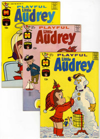 Playful Little Audrey File Copy Group (Harvey, 1963-74) Condition: Average NM-.... (Total: 44 Comic Books)