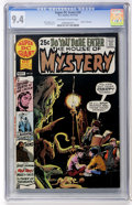 Bronze Age (1970-1979):Horror, Super DC Giant #20 House of Mystery (DC, 1970) CGC NM 9.4 Off-whiteto white pages....