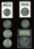Luxembourg, Luxembourg: Septuplet of silver coins.... (Total: 7 coins)