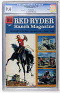 Golden Age (1938-1955):Western, Red Ryder Comics #125 File Copy (Dell, 1953) CGC NM 9.4 Off-white pages....