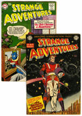Silver Age (1956-1969):Science Fiction, Strange Adventures #9 and 90 Group (DC, 1951-58) Condition: Average VG.... (Total: 2 Comic Books)