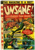 Golden Age (1938-1955):Humor, Unsane #15 (Star Publications, 1954) Condition: FN+....