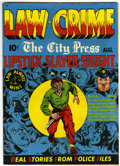 Golden Age (1938-1955):Crime, Law Against Crime #3 (Essenkay Publishing, 1948) Condition: FN....