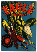 Golden Age (1938-1955):War, Eagle #1 (Rural Home, 1945) Condition: FN....