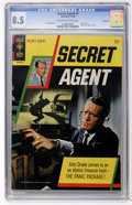 Silver Age (1956-1969):Adventure, Secret Agent #1 File Copy (Gold Key, 1966) CGC VF+ 8.5 Off-white to white pages....