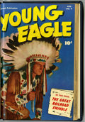 Golden Age (1938-1955):Western, Young Eagle #8-10 Bound Volume (Fawcett, 1952) ....
