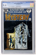 Bronze Age (1970-1979):Horror, House of Mystery #218 (DC, 1973) CGC NM 9.4 Off-white to whitepages....