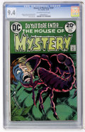 Bronze Age (1970-1979):Horror, House of Mystery #220 (DC, 1973) CGC NM 9.4 Off-white to whitepages....