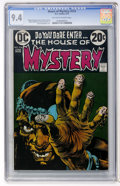 Bronze Age (1970-1979):Horror, House of Mystery #214 (DC, 1973) CGC NM 9.4 Off-white to whitepages....
