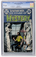 Bronze Age (1970-1979):Horror, House of Mystery #215 (DC, 1973) CGC NM+ 9.6 Off-white pages....