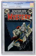 Bronze Age (1970-1979):Horror, House of Mystery #209 (DC, 1972) CGC NM 9.4 Off-white to whitepages....
