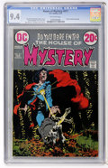 Bronze Age (1970-1979):Horror, House of Mystery #211 (DC, 1973) CGC NM 9.4 Off-white pages....